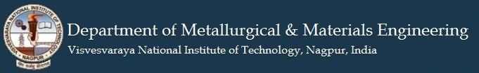 Department of Metallurgical & Material Engineering